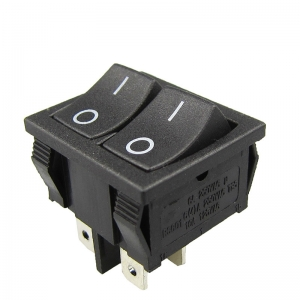 Double Hole Rocker Switch