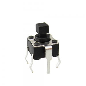 Gangyuan High quality 6x6 4pin Tact Switch with terminal