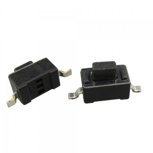 Black SMD Tact Switch